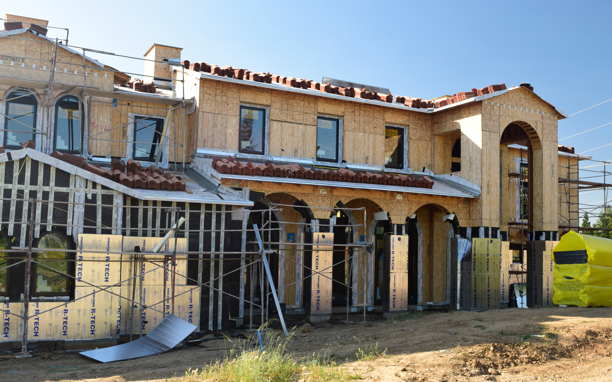 ESI Builders - Folsom Mansion Phase 3: Rough-Ins