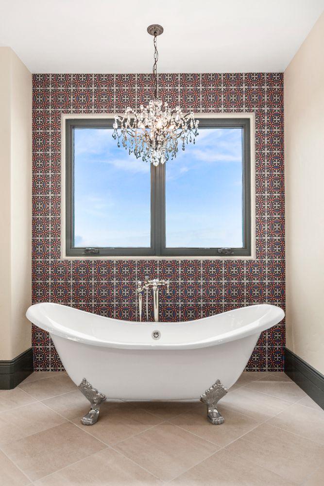 Fort Rock Custom Home - master bath