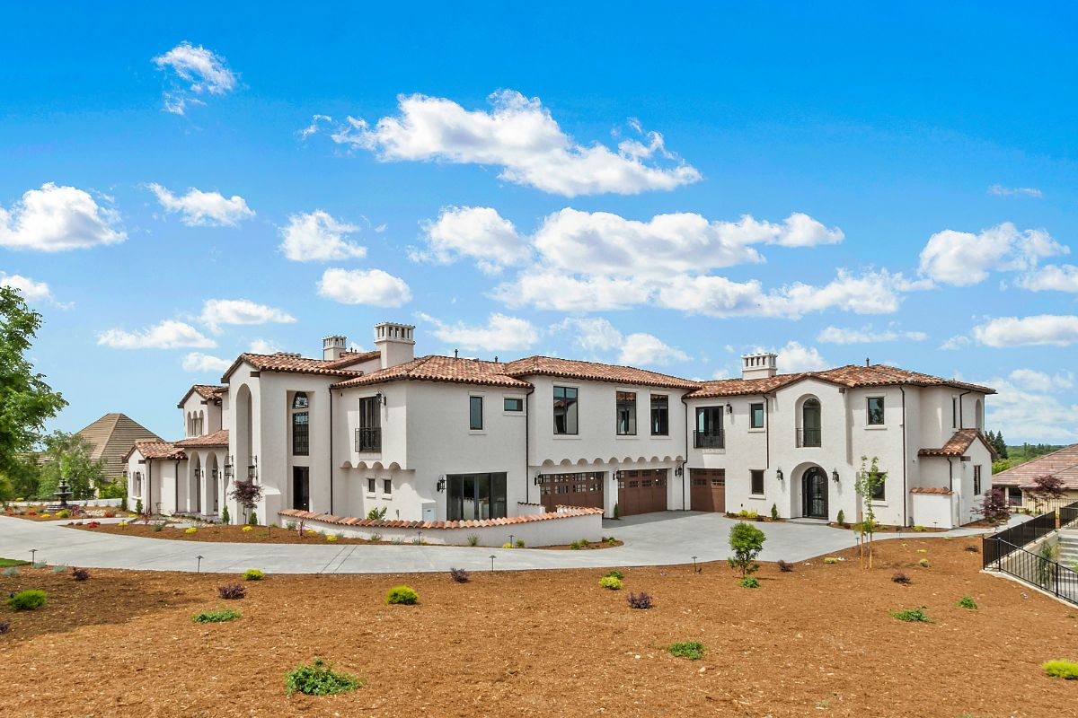 Fort Rock Custom Home - Right Front